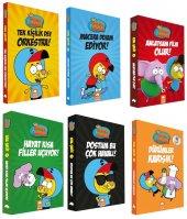 Kral Şakir 6 Kitap Takım Set Ciltli Yeni Kitap Dürümler Karışık