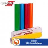Oracal 651 Kesim Folyosu (1.26 X 50m) (50m Rulo) 6...