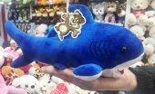 30cm Jaws Mavi Köpek Balığı Peluş Oyuncak Peluşcu Baba