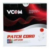 Vcom Np611 Cat6 25mt Gri Utp Patch Kablo