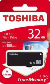 Toshıba 32gb Usb 3.0 (Siyah)