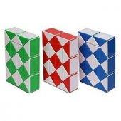 Sihirli Yılan Zeka Küpü 36 Dilimli Snake Magic Rubik Küp