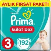 Prima Pants Külot Bebek Bezi 4 Beden Maxi Jumbo Aylık Fırsat Pake