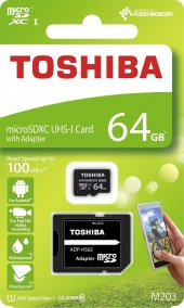 Toshıba 64gb M203 Microsd