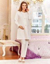Flz 31 238 Bayan Hamile Lohusa 3lü Pijama Takımı