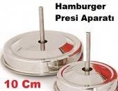 Hamburger Köfte Presi Basma Şekillendirme 10cm Yedek Aparat