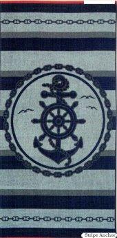 özdilek Plaj Havlusu Nice Stripe Anchor 70*150 Cm ...