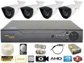 Güvenlik Kamerası Seti 4lü Exmeye Gerçek İzleme