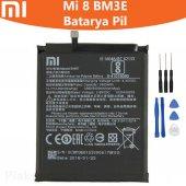 Xiaomi Mi 8 Bm3e Batarya Pil Ve Tamir Seti