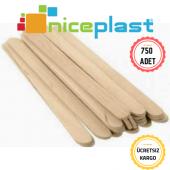 Niceplast Ahşap (Bambu) Çay Kahve Karıştırıcı 750 ...