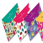 Faber Çıtçıtlı Dosya Trendy 4 Desen