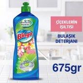 Bingo Elde Bulaşık Deterjanı Çiçeklerin Işıltısı 675 Gr