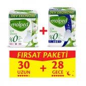 Molped Pure&soft Uzun 30 Adet + Gece 24 Adet Fırsat Paketi