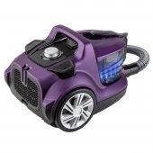 Veyron Turbo Xl Premium Toz Torbasız Kuru Vakum Süpürgesi Mor