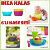 ıkea Kalas 6 Adet Karışık Renk Bebek Çocuk Yemek Kasesi
