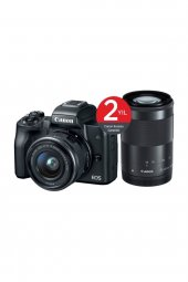 Canon Eos M50 15 45mm + 55 200mm Double Kit