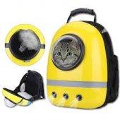 Sarı Astronot Kedi Taşıma Sırt Çantası 42*32*25