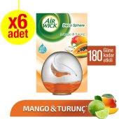 Air Wick Oda Kokusu Decosphere Mango&turunç 2li X 3 Adet