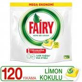Fairy Hepsi Bir Arada Bulaşık Kapsülü Limon Kokulu...