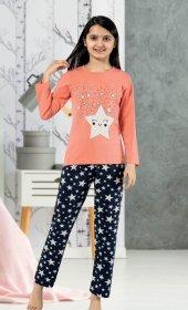 Sude 9005 Kız Çocuk U.kol Pijama Tk. (5 8) Yaş ...