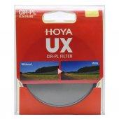 Hoya 62mm Ux Cpl (Circular Polarize) Slim Filtre