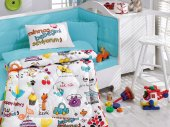 Cottonbox Ranforce Bebek Uyku Seti Mutlu Bebek (Be...