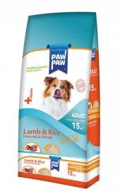 Paw Paw (Pawpaw) Kuzu Etli Ve Pirinçli Yetişkin Köpek Maması 15 Kg