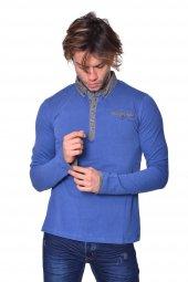 ıcb London Polo Yaka Uzun Patlı Süprem T Shirt