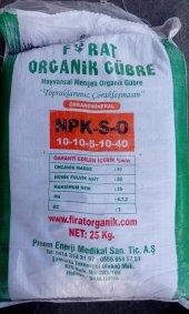 Organik Gübre Npk 10 10 5 10 40 25 Kg