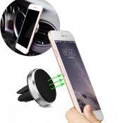 Araç İçi Mıknatıslı Telefon Tutucu Havalandırma Manyetik Yuvarlak