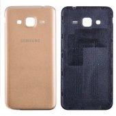 Samsung Galaxy J3 Arka Pil Kapağı Gold