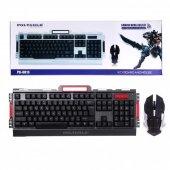 Polygold Pg 8013 Kablosuz Oyuncu Klavye Mouse Set