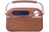 Nostaljik Radyo Mega 951 Bluetoothlu Usb Girişli Fm Radyo