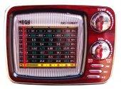 Nostaljik Radyo Mega 1540 Bluetoothlu Usb Girişli Fm Radyo