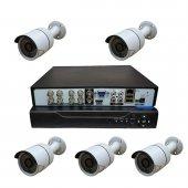 Primuscam Dış Mekan 5 Kameralı Set Gece Görüşlü Güvenlik Kamerası 2mp Ahd Metal Kasa