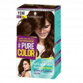 Schwarzkopf Pure Color Jel Saç Boyası 5.5 Sıcak Çikolata
