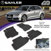 Audi A3 4d Havuzlu Paspas Sahler 2013 2018 Arası
