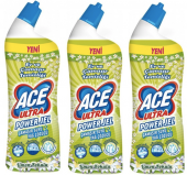 Ace Ultra Power Jel Limon Kokulu 3lü Paket