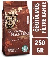 Starbucks Colombia Narino Öğütülmüş Kahve 250 Gr...