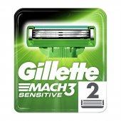 Gillette Mach3 Sensitive Yedek Başlık 2li