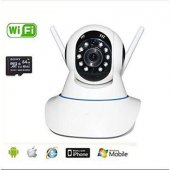 Wifi Smart Kablosuz 360 � Görüntü Özellikli Kamera Ip Wıfı Kamera