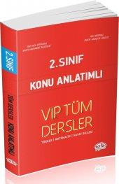 Editör Yayınları 2. Sınıf Tüm Dersler Konu Anlatımlı Kırmızı Kitap
