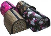 Kedi Köpek Taşıma Çantası Flybag Desenli