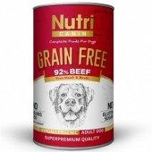 Nutri Canine Grain Free Tahılsız Biftekli Köpek Ko...