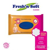 Freshn Soft Klasik Islak Bebek Havlusu 64 Yaprak
