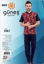 Güneş 5261 Kısa Kol Erkek Pijama Takımı