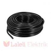 öznur 2x2,5 Mm Ttr Kablo 100 Mt Siyah