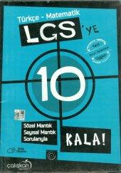 çalışkan Yayın 8.sınıf Lgs Ye 10 Kala Türkçe Matematik