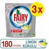 Fairy Platinum Bulaşık Deterjanı Kapsülü Limon 60 X 3 Yıkama
