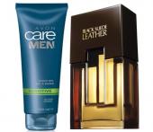 Avon Black Suede Leather Erkek Parfüm Edt 75 Ml Ve Avon Care Men
